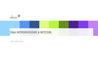 Una introduzione a Bitcoin e alla Blockchain
